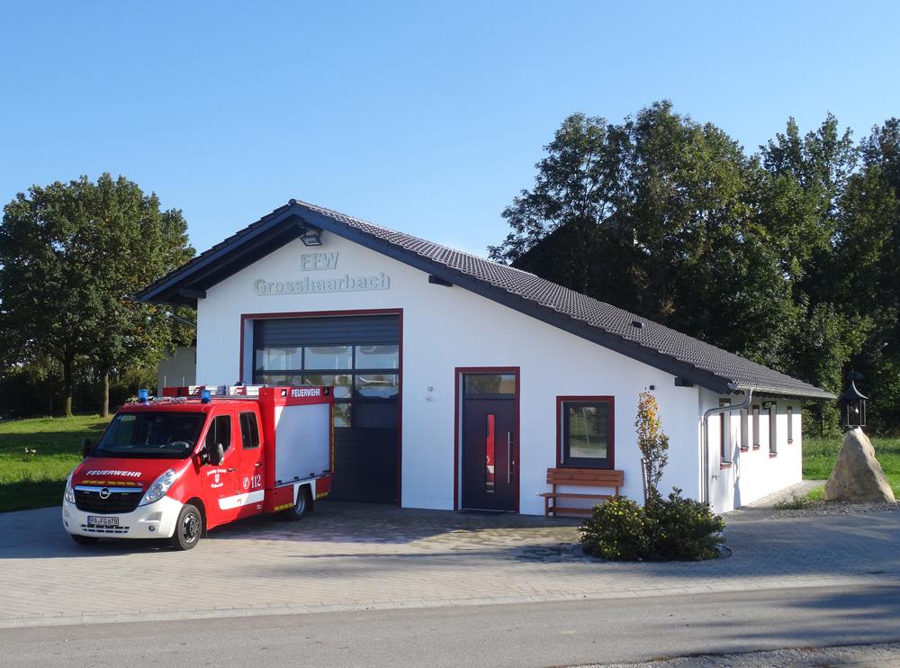 Feuerwehrgerätehaus FF Großhaarbach